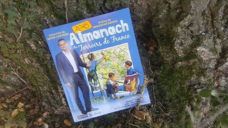ALMANACH DES TERROIRS DE FRANCE 2018 DE BOREE EDITIONS - SUITE 1