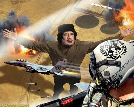 KADHAFI TUE PAR LES TERROSITES OCCIDENTAUX