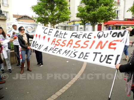 2012 05 05 Marche blanche Amine Bentounsi Noisy-le-Sec © JENB Productions