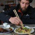 Si si, Vidian aime les plats chinois!