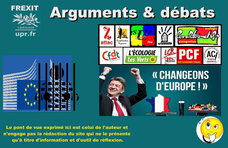 ARG CHANGER UE