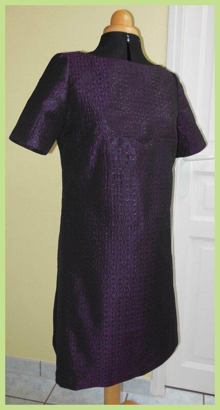 Robe violette 1