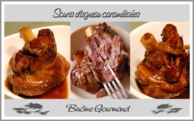 Souris d 39 agneau caram lis es bin me gourmand - Comment cuisiner la cervelle d agneau ...