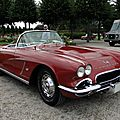 Chevrolet corvette c1 roadster - 1962