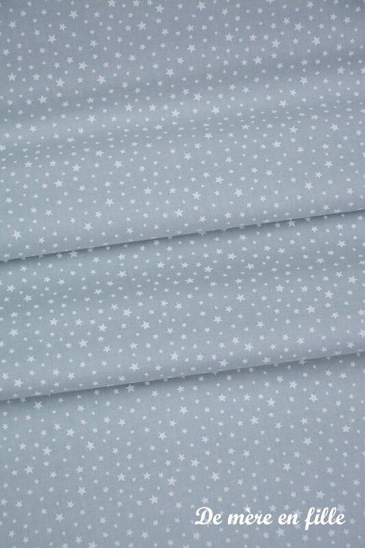 gris clair étoilé