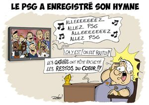 L'hymne du PSG net