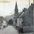 Le village avec l'église