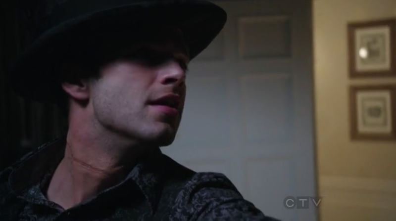 Sebastian Stan as Jefferson The Mad Hatter in Once Upon A Time OUAT S01E17 9