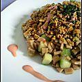 Crozetto thaï au surimi & poulet