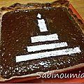 Tarte au chocolat crousti fondante