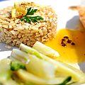 Saumon au miel et au citron :