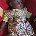 Robe caresse pour poupée