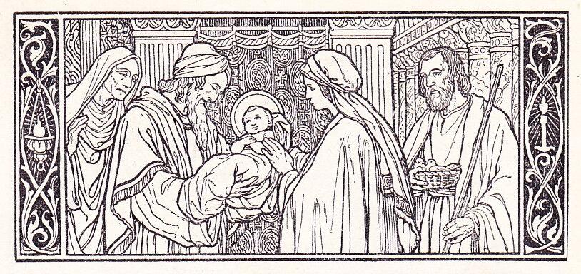 Jésus est présenté au Temple