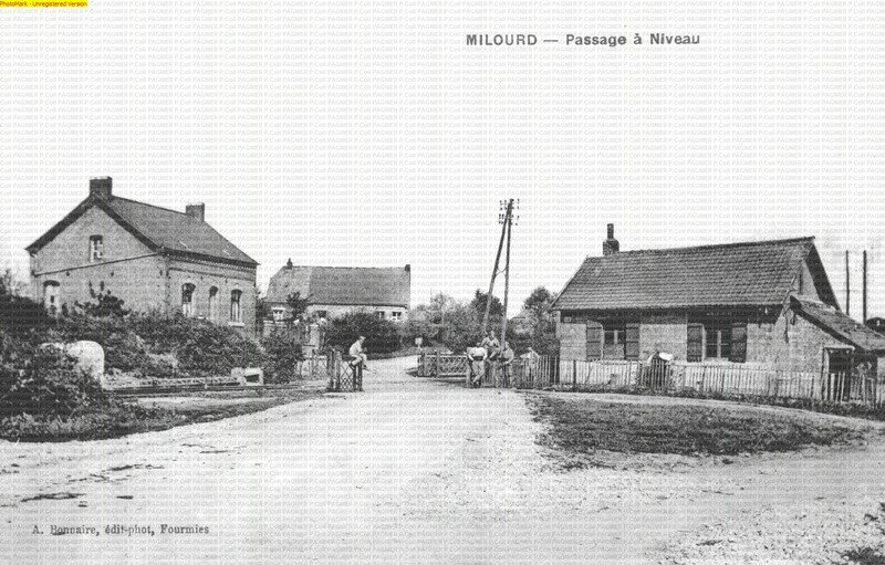 Passage à niveau -Milourd