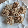 Id de recette : des muffins façon crumble à l'abricot