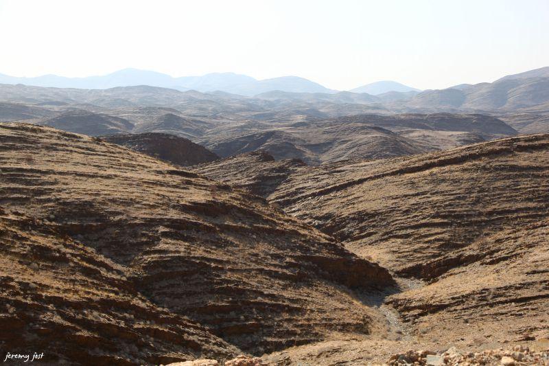 montagnes namibie