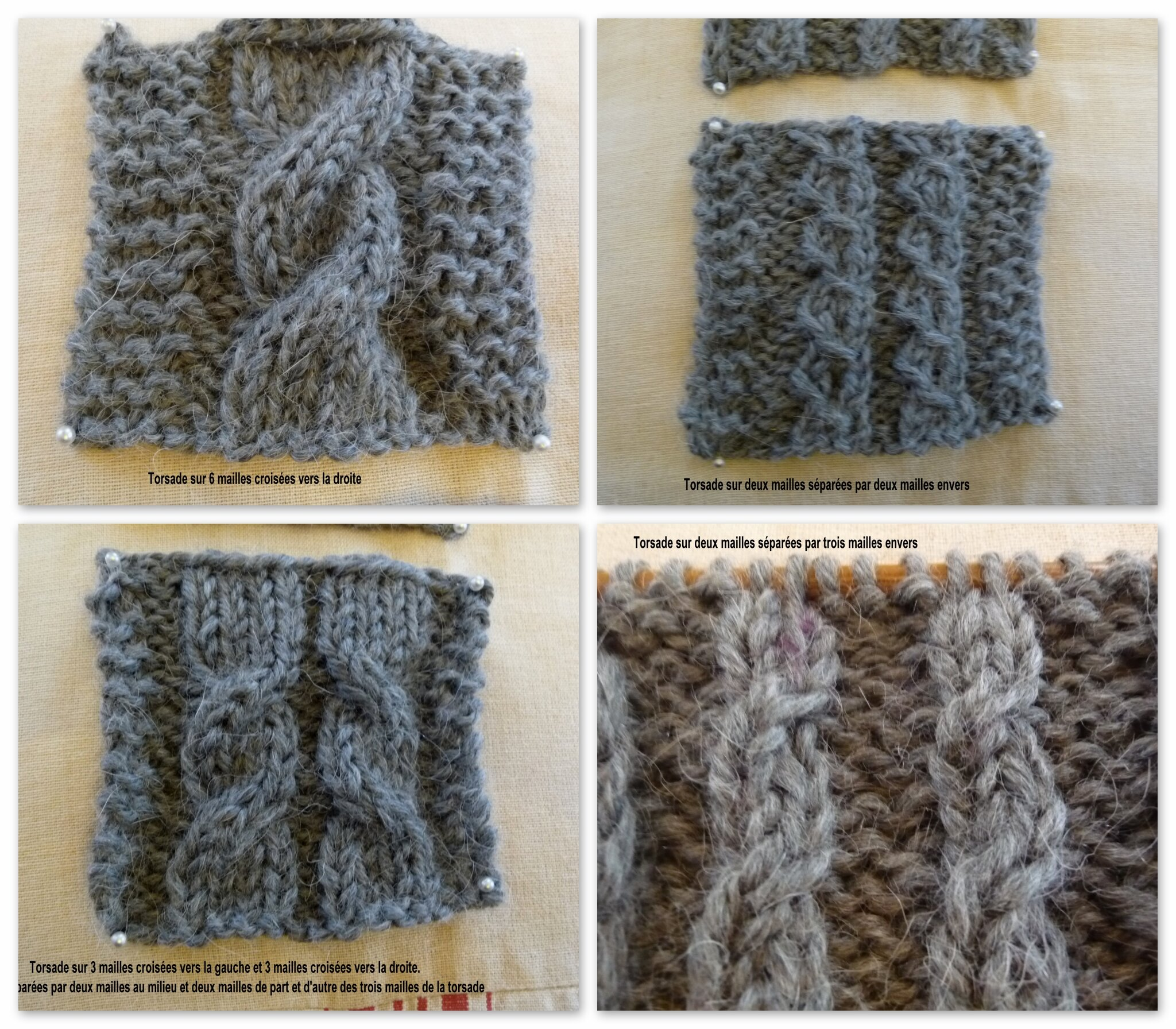 tricot mailles