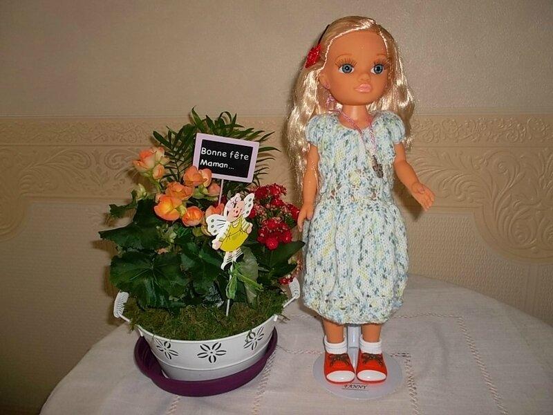 Fanny & la robe , le gilet de Louise