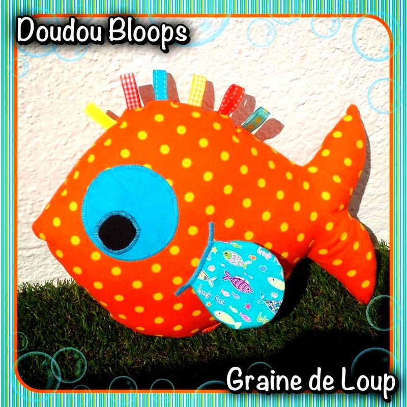 doudou Bloops orange