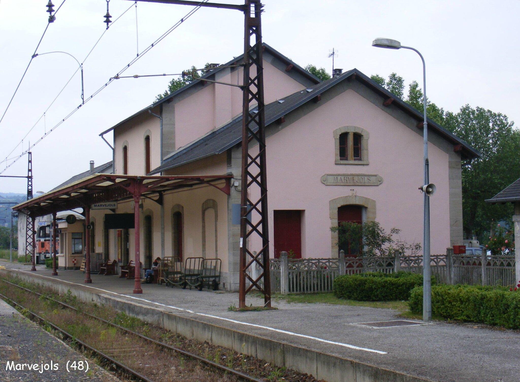 la gare de marvejols 48 les gares de france et leurs