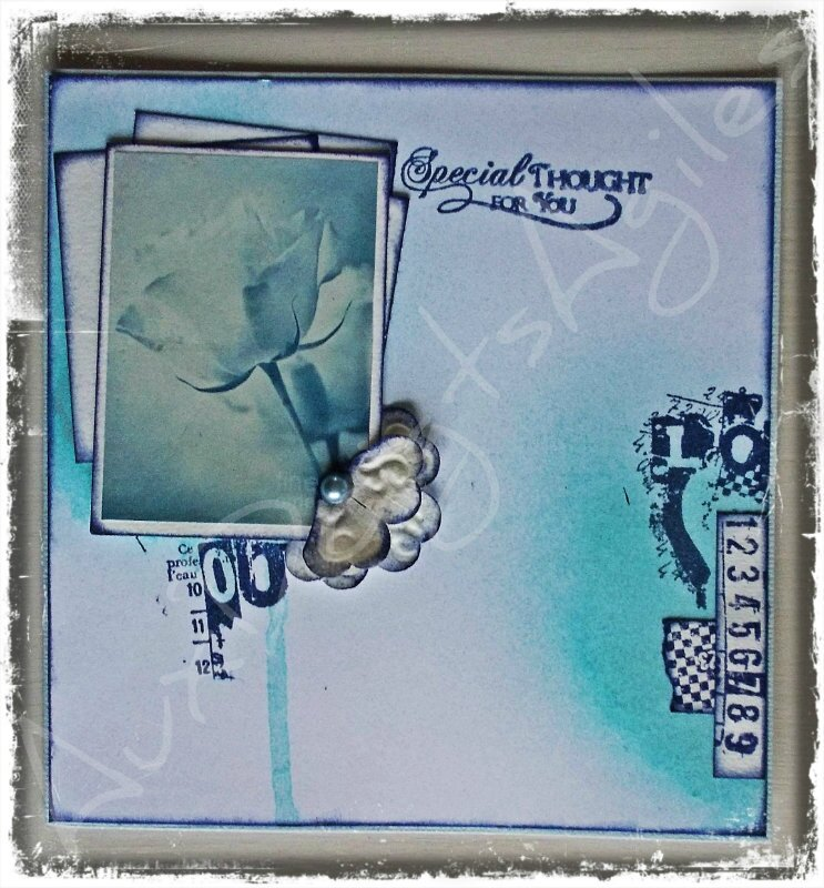 Carte Shabby Mixed Média 002