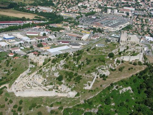 2008 07 07 Vu aérienne depuis l'ULM d'Etoile sur Rhône en direction de Crussol (32)