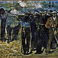 Manet, exécution de Maximilien