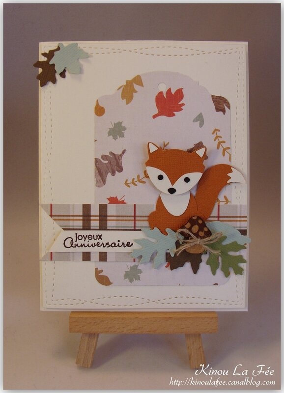 Carte Foxy Friends Automne 1