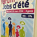 Auchan guilherand ...au forum des jobs d'été