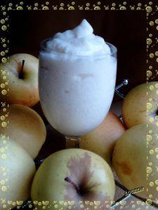 Mousse de pomme light