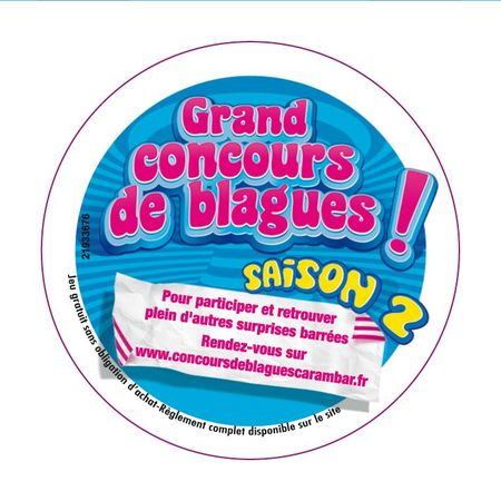 Stickers X2 CRB Blagues 5cm vecto-1