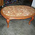 Table basse bicolore cosy