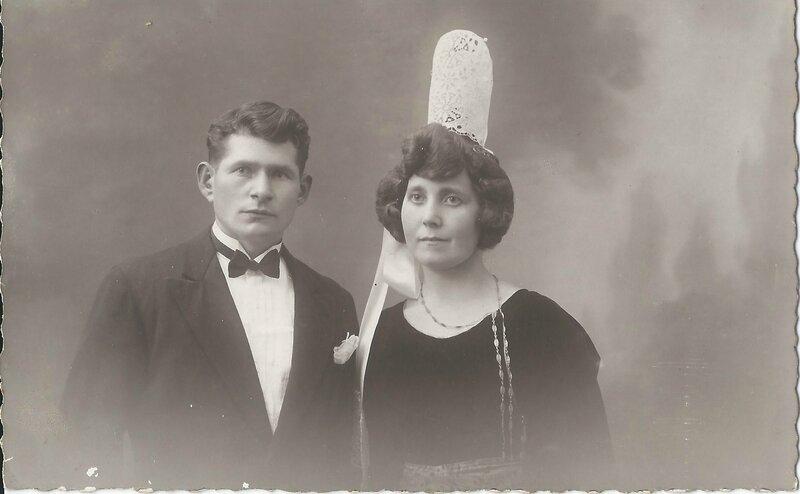 Marie-Anne monot nee en 1902 x 2 x nedelec