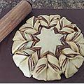Fiore di pan brioche alla nutella.