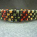 bracelet alpha quatre couleurs