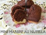 mini marbres au nutella