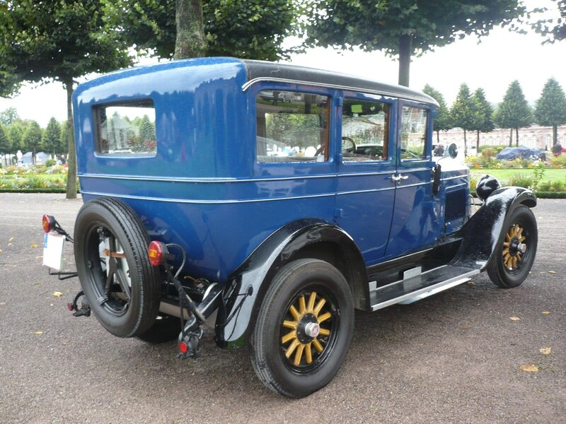 WILLYS KNIGHT 4door Sedan 1928 Schwetzingen (2)
