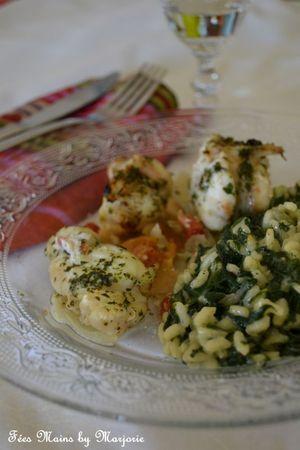 Lotte risotto épinards1