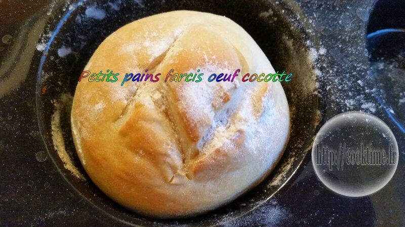 Petit pain farcis oeuf cocotte thermomix 2