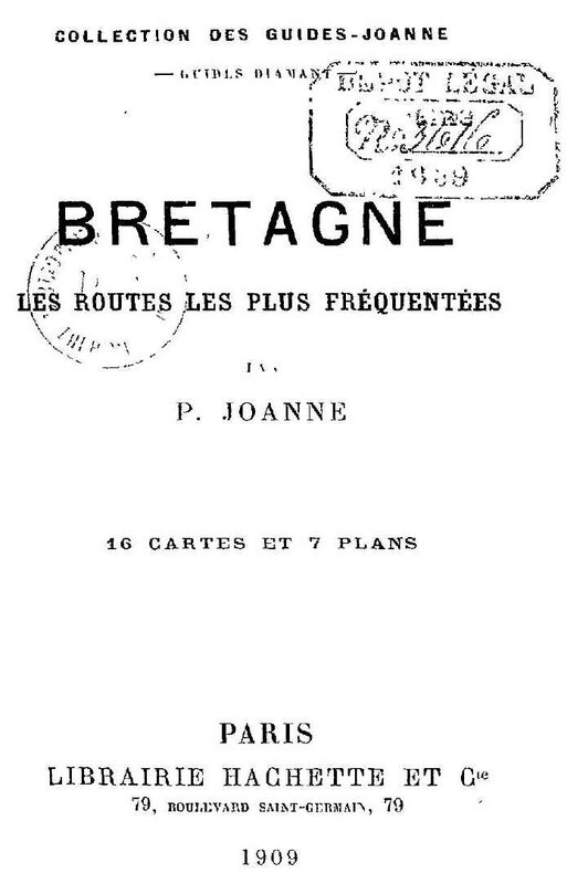 Guide Joanne routes 1909