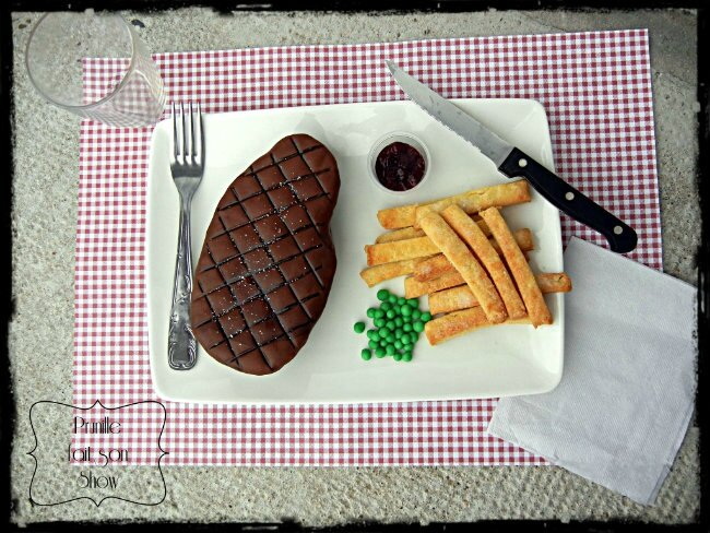 defi 6 gateau steak et ses frites prunillefee sugarparis