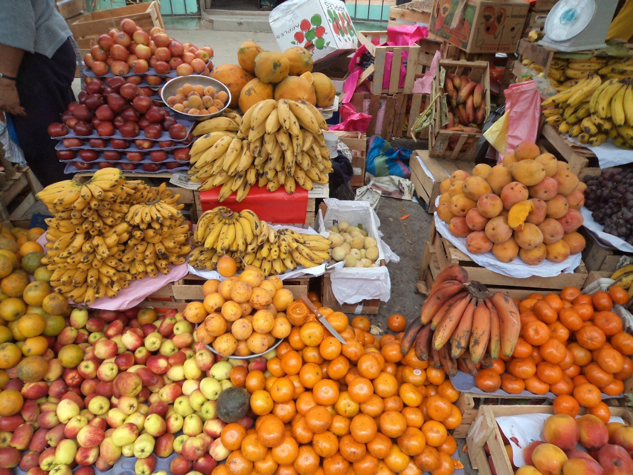Que de beaux fruits...