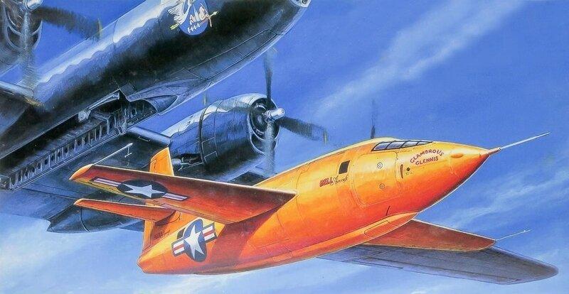 F1HDE Bell X-1 1