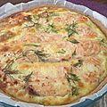 Tarte au fenouil et au saumon- by claire -