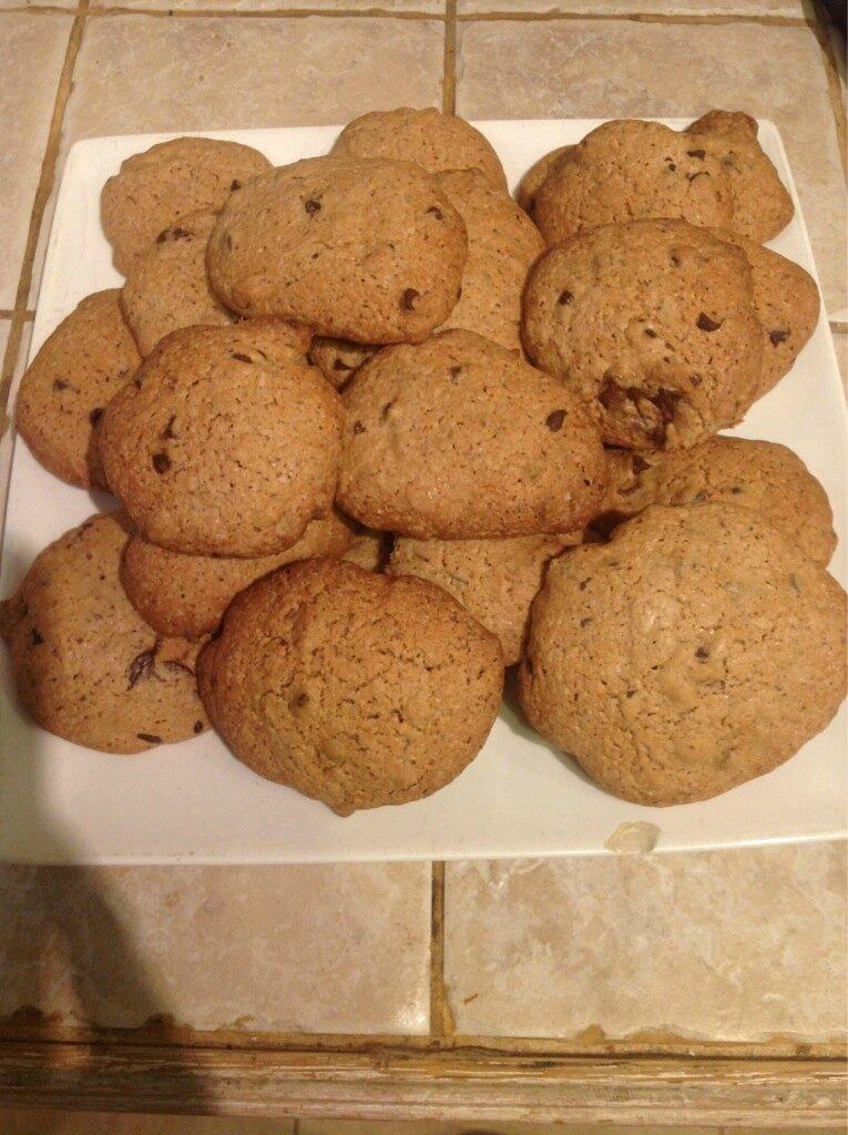 Cookies aux pépites de chocolat de Margaux