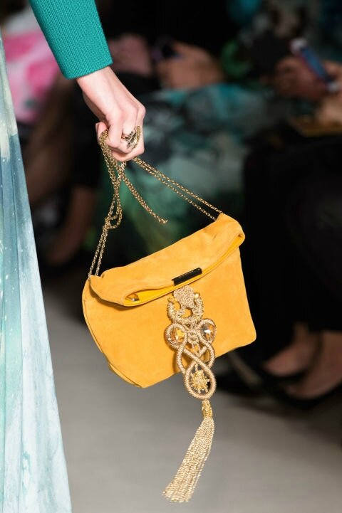 Tassel Canary Bag