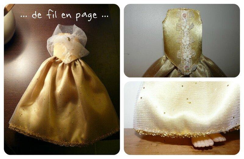 robe poupée