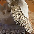Fées couturières détails de la robe de mariée