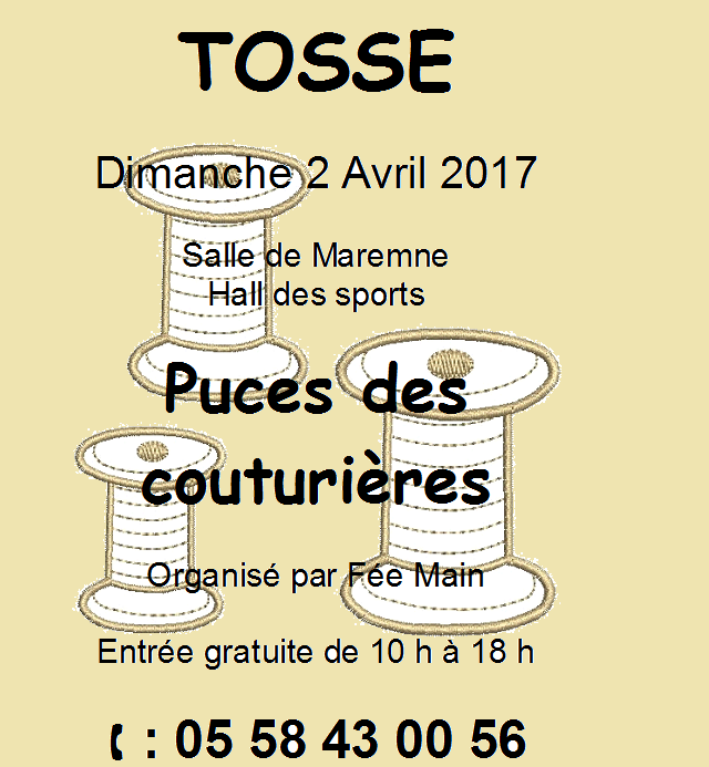 puce Tosse 2017