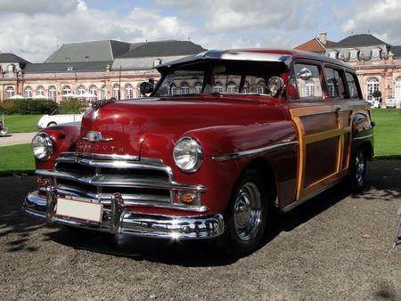 PLYMOUTH Deluxe Suburban Special 2door Woody Wagon 1950 Classic Gala de Schwetzingen 2009 1